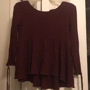 Nice American Eagle shirt with flare sleeves